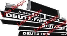 deutz fahr AgroXtra DX4.57 stickers / decals