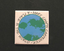 "MARY CHAPIN CARPENTER PROMO MAGNET   ""A PLACE IN THE WORLD"" 1996"