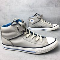 """LEATHER Converse Boots. """"Chuck Taylor All Star"""" Trainers  High Top Size UK4.5"""