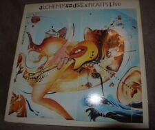 Dire Straits Alquimia ~ ~ 1984 Reino Unido 1ST Press En Vivo Vinilo Lp ~ gran Audio