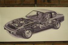 PORSCHE 944 PVC grande lavoro Negozio Banner Garage CAR SHOW Banner