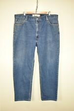 "Levis 550 Relaxed Fit blue jeans Mid/Dark wash size 42W 32L 42"" x 32"" 42x32"
