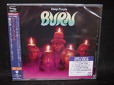 DEEP PURPLE Burn + 5 JAPAN SHM CD (35th ANNIVERSARY EDITION) Whitesnake Rainbow