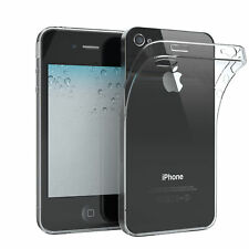 Eazy case Apple iPhone 4/4s funda protectora de silicona Soft Cover funda transparente