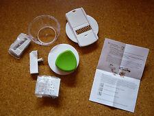 Multifunktionsreibe weiß/grün - NEU