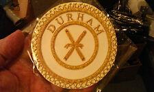 Masonic  Dress Apron Badge  - Province of Durham - Director Ceremonies