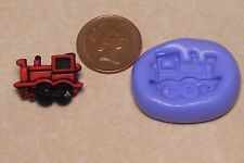 Reusable Train Loco Silicone Mould Sugarcraft Jewellery Card Topper Food Safe N