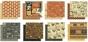 """Graphic 45 Farmhouse Collection 8"""" Cardstock PICK Country Grown Gather Store"""