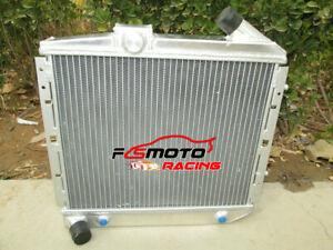 Radiator de aluminio de para Renault Super 5 GT R5 R9/11 1.4 Turbo AT 50mm