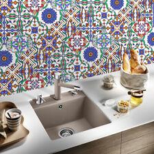10pcs Lantern Moroccan Self-adhesive Bathroom Kitchen Floor Wall Tile Sticker