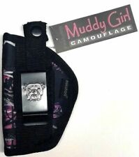 Nylon Muddy Girl gun holster for Charter Undercover 5 shot with 2 inch barrel