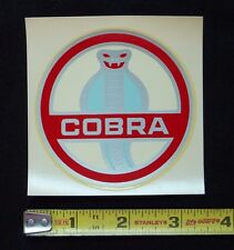 Ford Cobra Water Slide Decal Sticker~Original 60's Vintage~Shelby GT Mustang