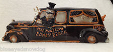 Yankee Candle ~  BONEY BUNCH  *2013* Boney Hearse Multi-Tea Light Holder  ~ New