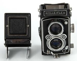 Rolleiflex Automat Model 4KA Zeiss- Opton Tessar 1951-54 VERY NICE- NEEDS REPAIR