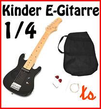 Kinder E-Gitarre Kindergitarre Elektrogitarre 4-8 Jahre mit Lautsprecher +Tasche