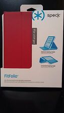 Speck Fitfolio Case for Apple iPad 2/3/4 Generations  Poppy Red/Grey 71898-B900