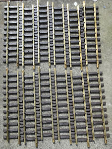 12 LGB 10000 G SCALE GARDEN RAILWAY 300mm BRASS TRACK  BRAND NEW BOXED