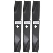"Husqvarna 539119837 3pk 50"" Deck HiLift Fusion Blades Dixon Ram 50 Ultra 3-PACK"