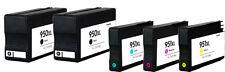 5pk astillados Cartuchos De Tinta Para Hp 950xl 951xl Officejet Pro 8100e 8600 8600 Plus