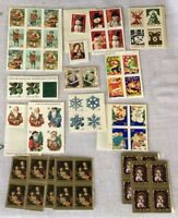 United States Postal Service Christmas Winter Stamps Unused Approx 60