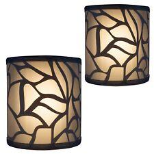 2pk | RV Light Fixture | LED 12V | Decorative RV (Camper) Bathroom Wall Light