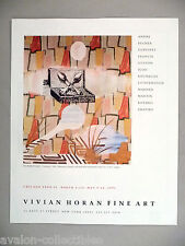 Sigmar Polke Art Gallery Exhibit PRINT AD - 1991 ~~ Gemalde