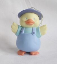 1990 Hallmark Easter Trimmer Boy Duck Ornament