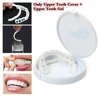 Cosmetic Dentistry Perfect Smile Comfort Fit Flex Upper Teeth Veneers Cover USA