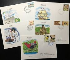 Lot of 5 envelopes. Fdc From Around The World. Lot D. (Bi#Bx72)