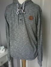 Alprausch  top hoodie size M marl green hood long sleeves