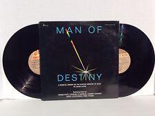 MAN OF DESTINY By Mosie Lister 2 vinyl LPs Danny Gaither Rusty Goodman rare NM
