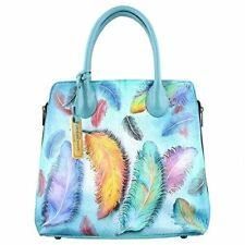Anuschka 551 Expandable Convertible Tote Floating Feathers d5a1bb1366