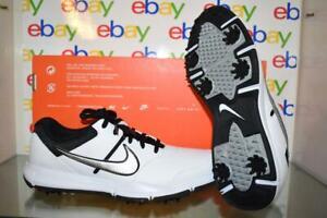 Nike Durasport 4 Men's Golf Shoes 844550 100 White/Silver/Black NIB