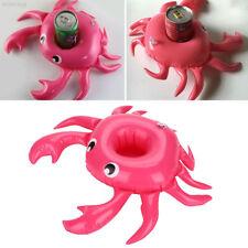 EA2D 58DA Crab Rose Red Convenient Economic Drink Swimming Drink Holder 510B