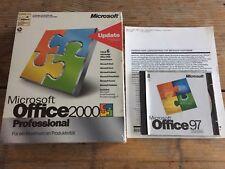 Office 2000 Professional versión completa BDL con segundo derecho de uso para portátiles de