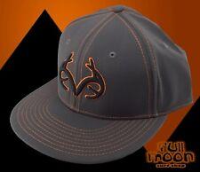 New Realtree Antler Gray Real Tree Mens Flex Fit Cap Hat
