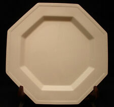 """Heritage White by Johnson Brothers DINNER PLATE 10 1/8"""" MADE IN ENGLAND"""