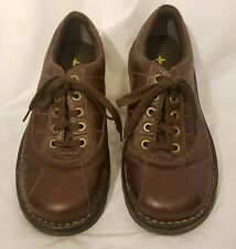 Dr DOC MARTENS JOHN Brown Leather 5 Eye Lace Up Oxford Mens Shoe 9 UK  US 10 M