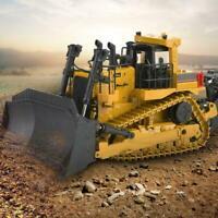 HUINA 1700 1:50 alliage RC Construction Bulldozer voiture jouet véhicule d'ingé