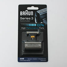 BRAUN Mens Shaver 30B Foil & Cutter TriControl SmartControl Syncro SyncroPro NEW