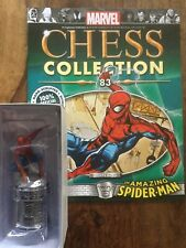 Eaglemoss Marvel Chess Collection # 83 The AMAZING SPIDER-MAN  + Magazine RARE