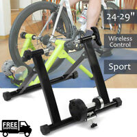 Bicycle Trainer Stationary Magnetic Bike Cycle Stand Indoor Exercise Training US
