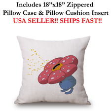 "18x18 18""x18"" 18in CUTE CHILDREN POKEMON VILEPLUME Throw Pillow Case & Cushion"