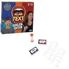 Hasbro C3145100 Klartext Familien-Edition   Spieleklassiker  Aktionsspiel