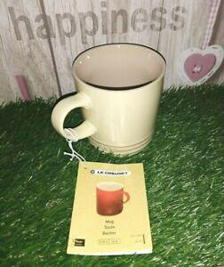 Le Creuset Stoneware 350ml/0.35L/12oz Pale Yellow Coffee Mug Tazon Becher ☕