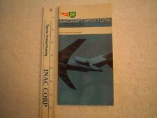 AIRCRAFT SPOTTERS HANDBOOK, AIR BP CIVIL EDITION 1964/65