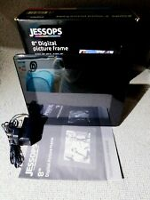 """Jessops Digital Picture Frame - 8"""" Screen, Boxed & Complete"""