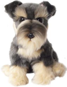 SCHNAUZER DOG FAITHFUL FRIENDS FSCH03 SOFT CUDDLY PLUSH PUPPY DOG TOY