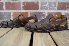 Cole Haan Brown Leather Size 9M Fisherman Sandals C06453