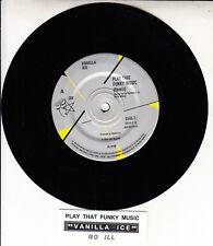 "VANILLA ICE  Play That Funky Music 7"" 45 rpm vinyl record + juke box title strip"